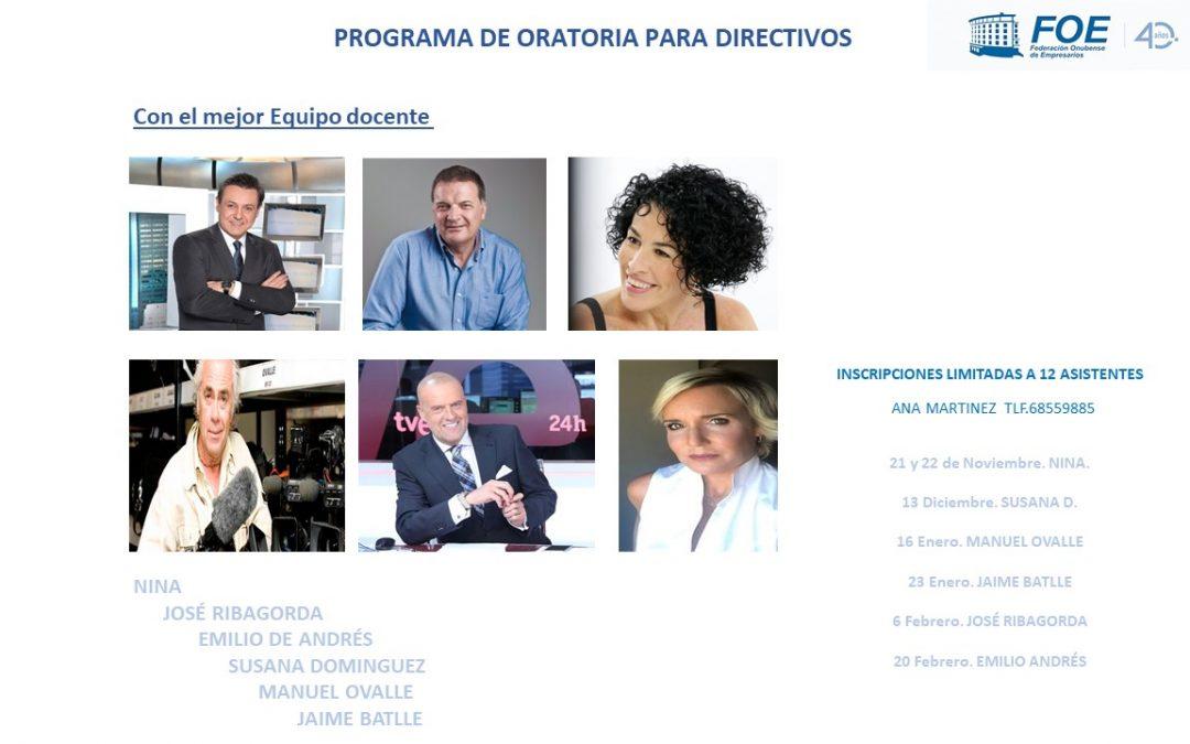 ComunicARTE , Programa de Desarrollo Directivo de la mano de FOE Octubre 2018