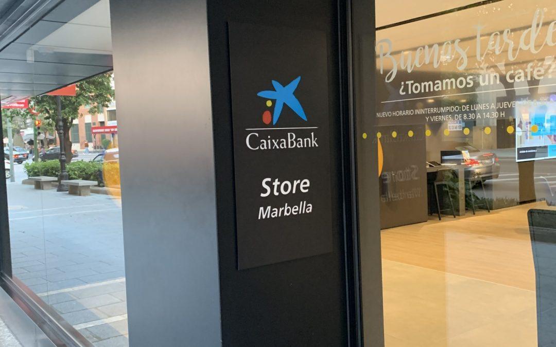 Charlando y Dialogando con La Caixa Marbella Febrero 2019