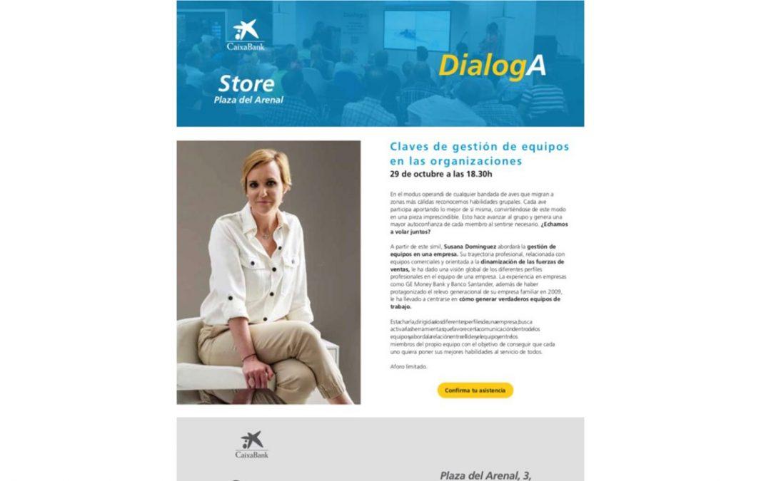 Charla Dialoga de la Caixa en Jerez. Octubre 2019