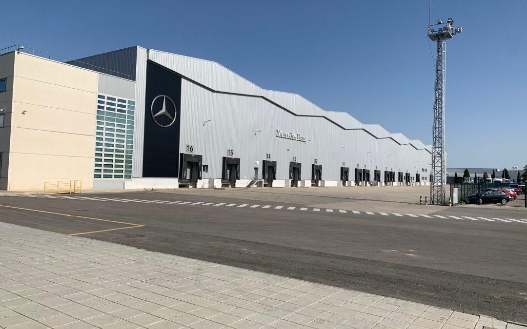 Con Mercedes Benz España Octubre 2019